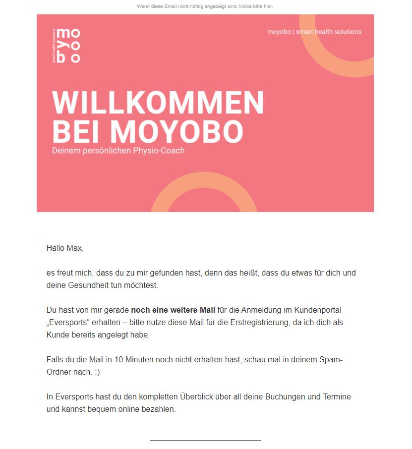 Newsletterbeispiel Moyobo
