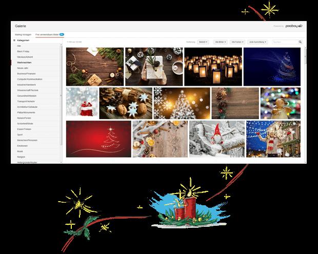 Kostenlose Bildergalerie mit frei verwendbaren Bildern für Ihren Newsletter.