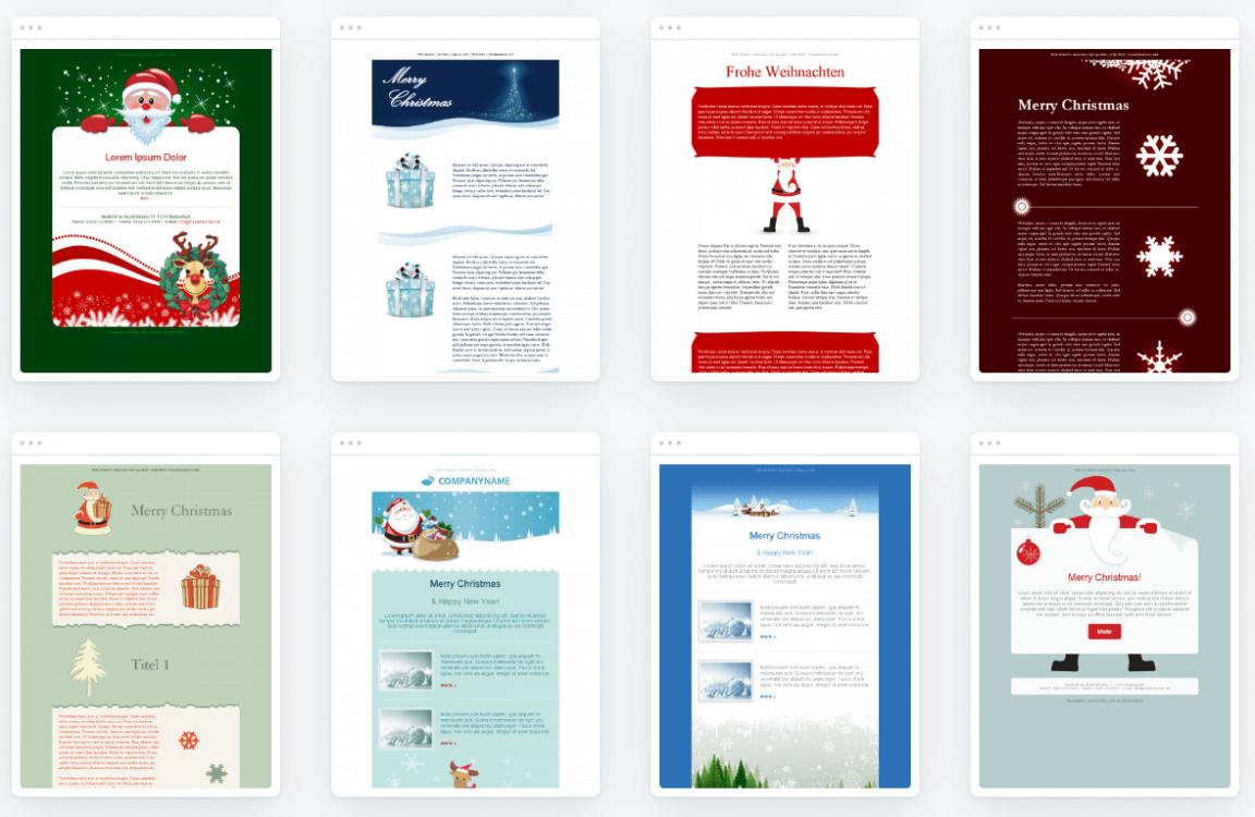Kostenlose Templates für Nikolaus-E-Mails