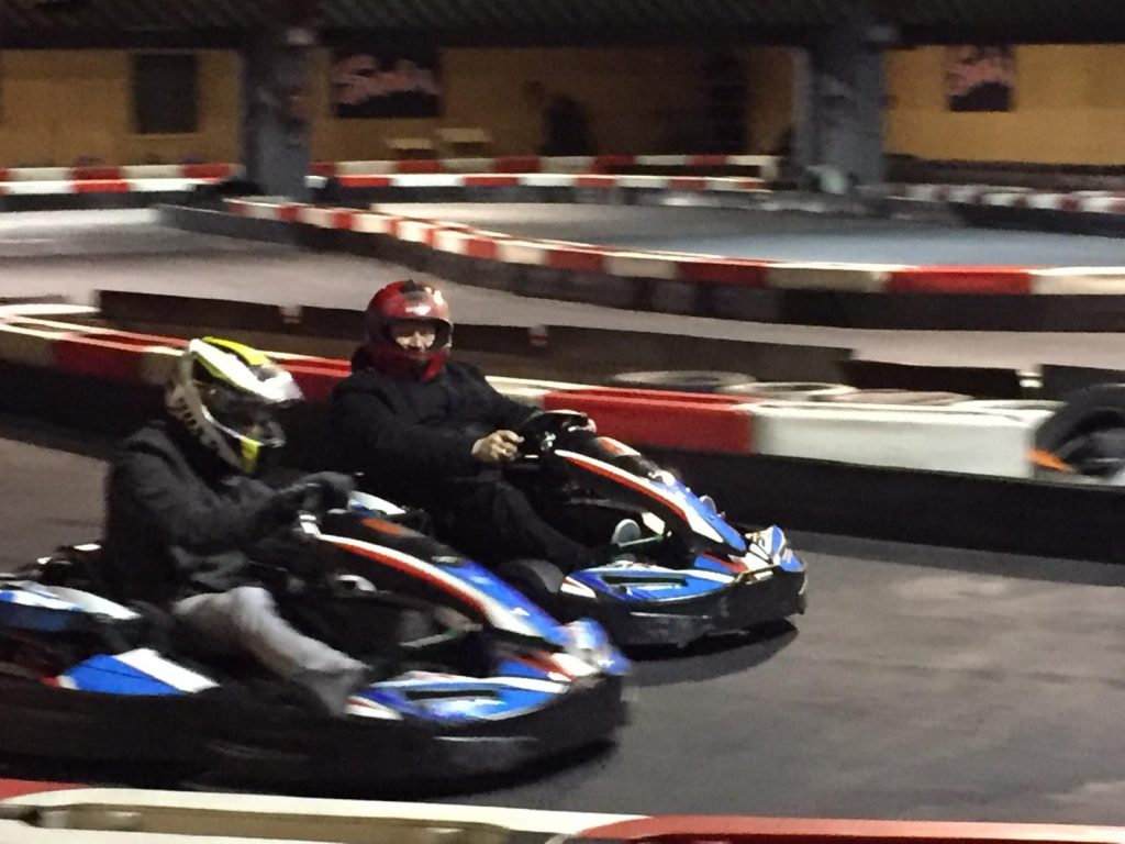 Indoor Kartfahren rapidmail
