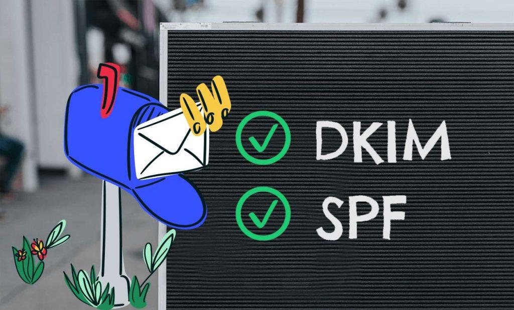 DKIM und SPF für verbesserte Newsletter Zustellbarkeit