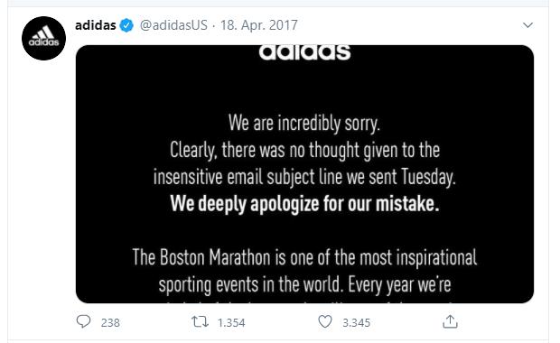 Tweet nach undurchdachter E-Mail-Betreffzeile