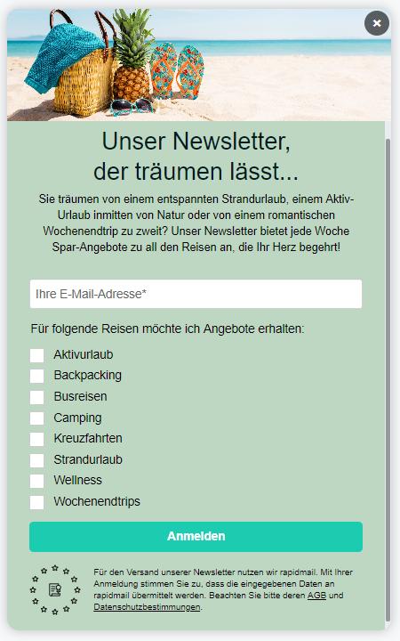 Interessante Newsletter Inhalte finden