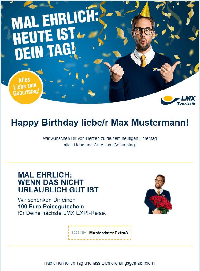 Beispiel Geburtstags E Mail