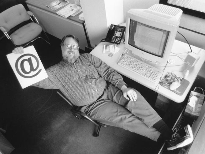 Ray Tomlinson-Erfinder der E-Mail