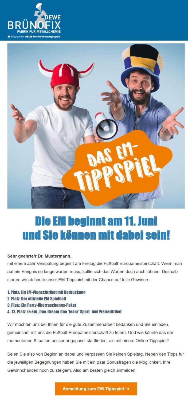 EM-Newsletter-Beispiel-Bünofix
