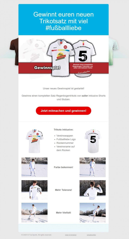 EM-Newsletter-Beispiel Vitva-Sports