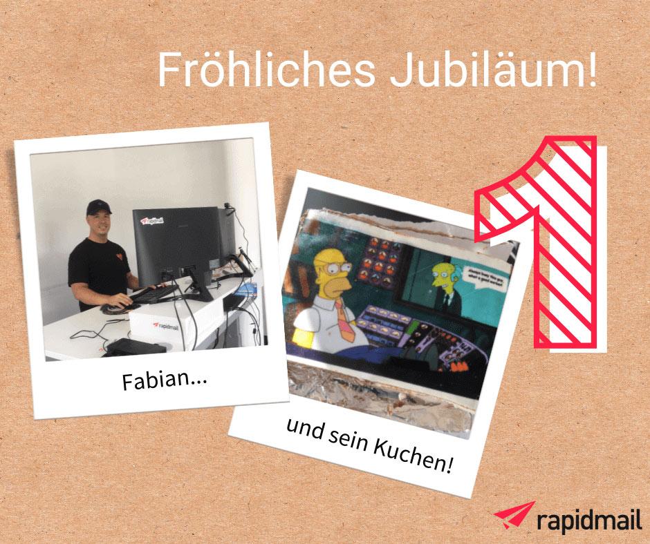 Fabian-rapidmail-Team-Jubiläum