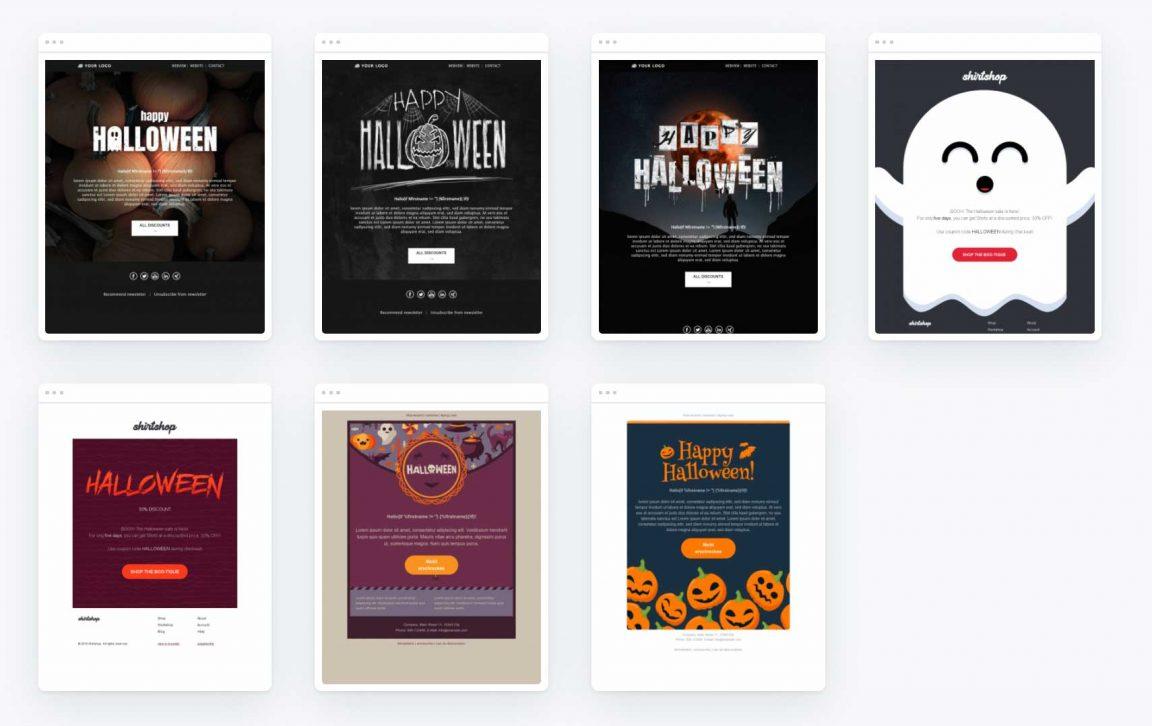 Newsletter Halloween Vorlagen