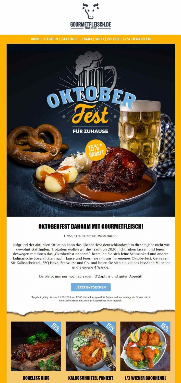 Oktoberfest Kundenbeispiel