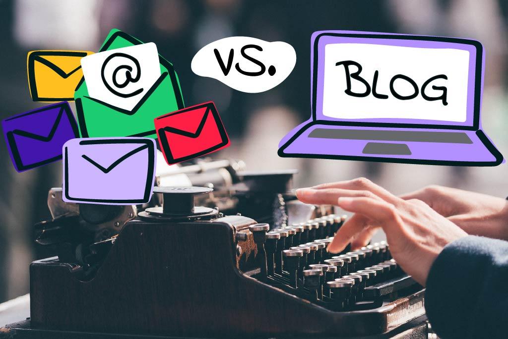 Blog vs. Newsletter - Was lohnt sich mehr?