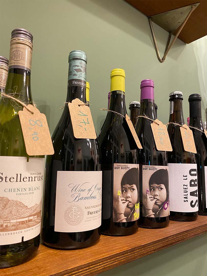 Weinprobe Weinauswahl