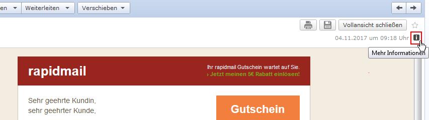 Header-Information GMX und web.de