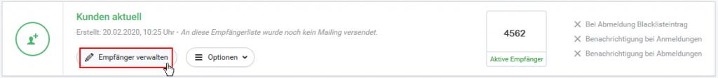 Gespeicherte Email Adressen Löschen