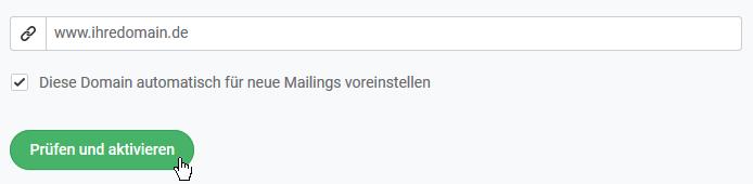 Newsletter-Zustellung durch eigene Tracking-Domain erhöhen