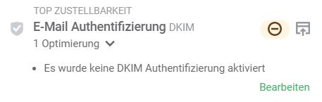 Spam-Test zur Email-Authentifizierung DKIM